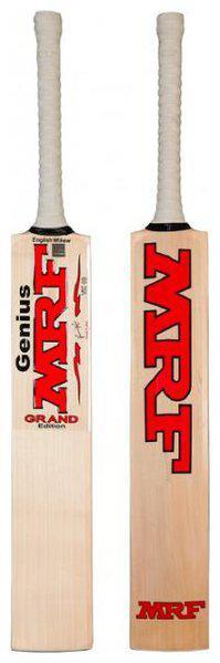 MRF Genius Grand Edition English Willow Cricket Bat HARROW SIZE
