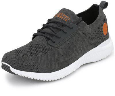 Alberto Torresi Men's Grey Sneakers-9 Uk (43 Eu) (9 Us) (62602)