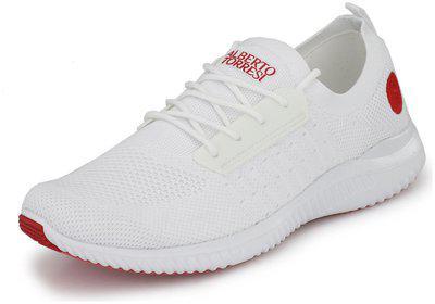 Alberto Torresi Men White Sneakers
