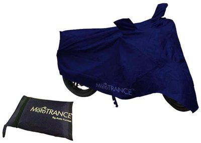 Mototrance Blue Bike Body Cover For Bajaj Avenger 220 Cruise