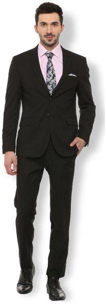 Van Heusen Black Two Piece Suit