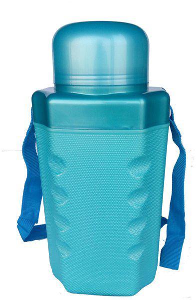 Jayco 2500 ml Plastic Blue Water Bottles - Set of 1