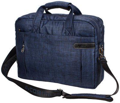 Cosmus Blue Polyester Laptop messenger bag