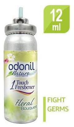 Odonil One Touch Air Purifier Freshener - Floral Bouquet Refill 12ml