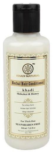 Khadi Natural Hair Conditioner - Shikakai & Honey 210 ml