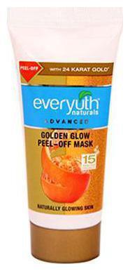 Everyuth Advanced Golden Glow Peel Off Mask 30 Gm