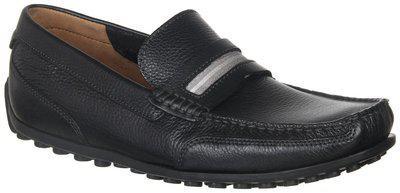Clarks Men's Hamilton Drive Black Leather Casual Shoes
