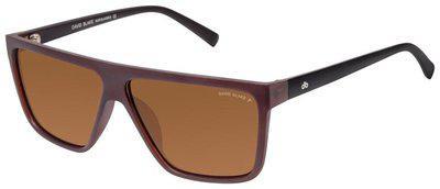 David Blake Regular lens Rectangular Frame Sunglasses for Men , 1