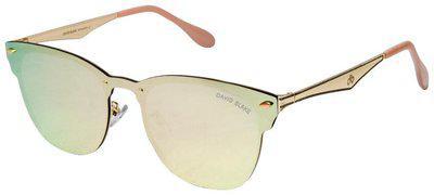 David Blake Mirrored lens Wayfarer Sunglasses for Men , 1