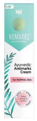 Bajaj Nomarks - Ayurvedic Antimarks Cream For Normal Skin 25 g