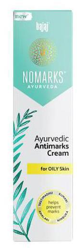 Bajaj Nomarks - Ayurvedic Antimarks Cream For Oily Skin 25 gm
