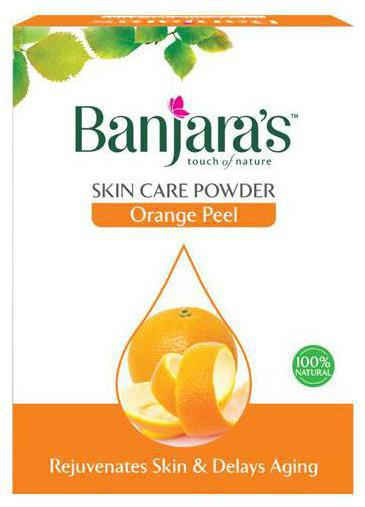 Banjara's Orange Peel Powder - Pure Herb 20 gm