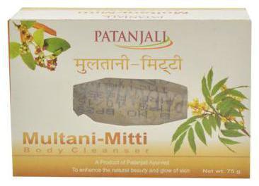 Patanjali Multani Mitti - Body Cleanser 75 gm