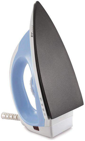 Syska SDI-800 ECO Non-Stick Soleplate Dry Iron (Light Blue)