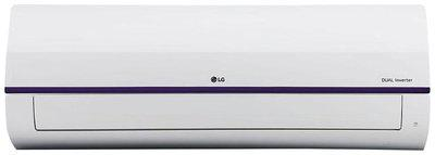 LG 1.5 Ton 3 star Inverter Split ac , KS-Q18BNXD , White )