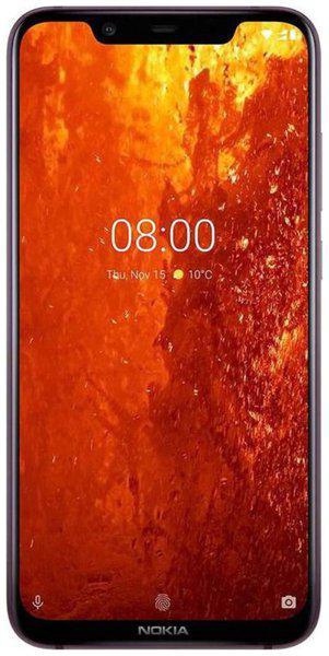 Nokia 8.1 4 GB 64 GB Brown