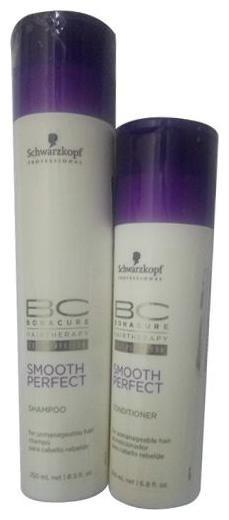Schwarzkopf Professional Bonacure Cell Perfector - Smooth Perfect Shampoo & Conditioner (250Ml plus 200Ml) 450 ml