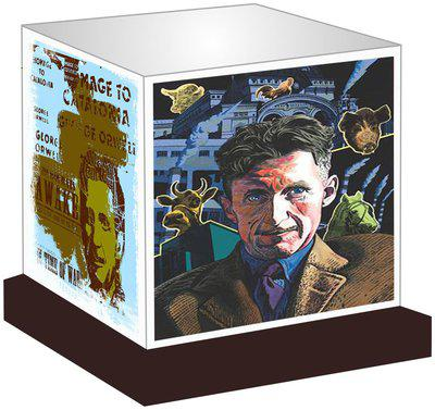 Unique Indian Crafts George Orwell Led Night Lamp Gift For All Occasions