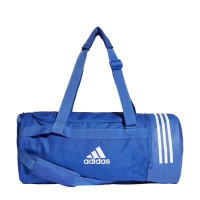Adidas Polyester Men Duffle Bag - Blue