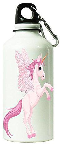 AngaarLookCute Pink UnicornPrinted 750 ml Sipper Bottle