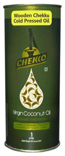 Chekko Cold Pressed Virgin Coconut Oil 1 L