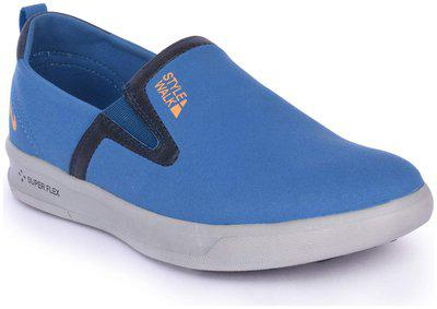 Campus Style Walk Men's Blue/navy Casual Shoes -9 Uk
