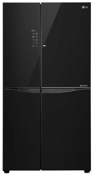 LG 679 L 3 star Frost free Refrigerator - GC-M247UGBM , Black