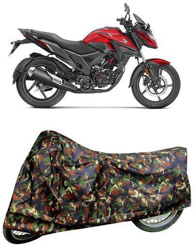 De-Autocare Premium Quality Multi Matty Bike Body Cover for Honda X-Blade