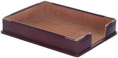 Leatherman Leather Paper Tray in Brown