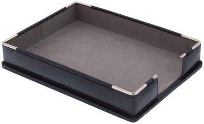 Leatherman Leather Paper Tray in Black