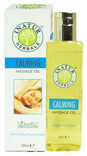 INATUR Calming Body Massage Oil 200 ml