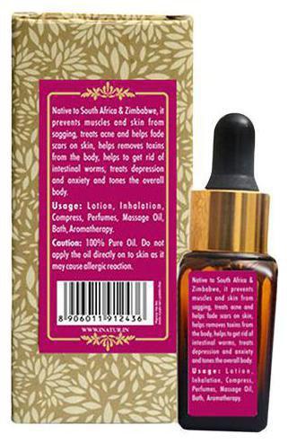 INATUR Geranium Pure Essential Oil 12 ml