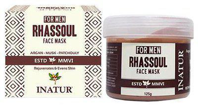 Inatur Men Rhassoul Face Mask 125 g