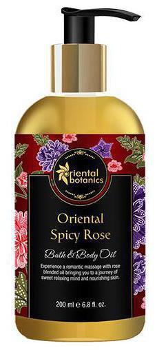 Oriental Botanics Bath & Body Oil - Oriental Spicy Rose 200 ml
