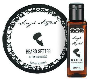Singh Styled Beard Care Kit - Beard Setter & Beard Oil 230 g