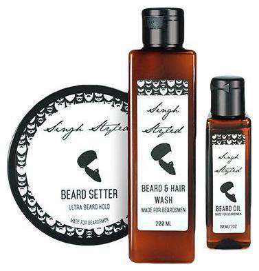 Singh Styled Beardsmen Kit - Beard Setter Beard Wash & Beard Oil 430 ml