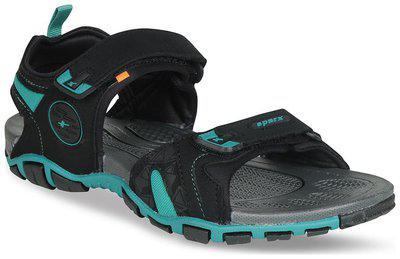 Sparx Synthetic Black Floater For Men