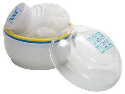 Mee Mee Baby Premium Powder Puff - Blue 60 gm
