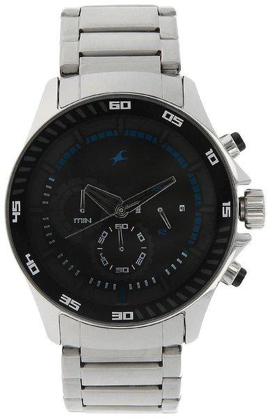 Fastrack NK3072SM03 Men Chronograph watch