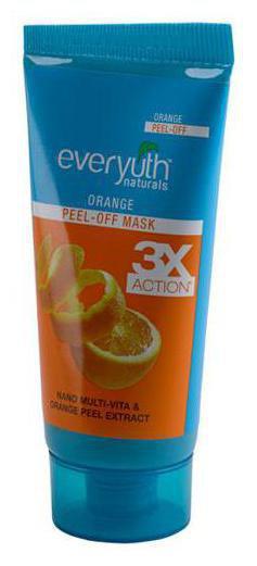 Everyuth Naturals Orange Peel-Off Mask With Nano Multi Vitamin-A 50 gm
