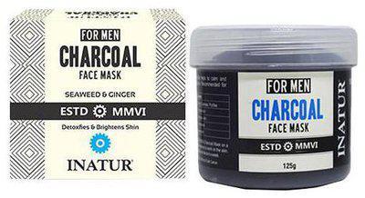 INATUR Men Charcoal Face Mask 125 gm