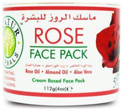 INATUR Rose Face Pack 112 gm