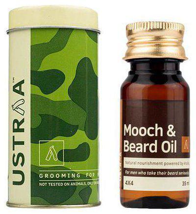 USTRAA Mooch & Beard Oil - 4X4 35 ml
