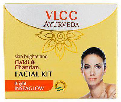 Vlcc Ayurveda Skin Brightening Haldi & Chandan Facial Kit 50 Gm