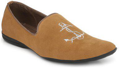 Eego Italy Elegant Loafers Tan