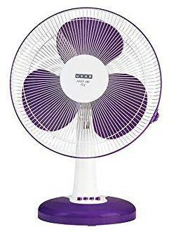 Usha MIST AIR ICY 400 mm Table Fan - Purple