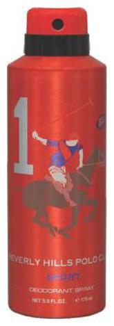 Beverly Hills Polo Club Deodorant Spray - 1 Sport (For Men) 175 ml