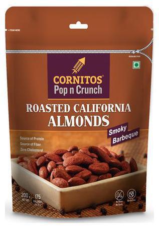 Cornitos Roasted California Almonds 200 g