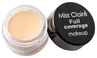 Miss Claire Full Coverage Makeup plus Concealer 6 gm