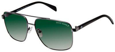 David Blake Polarized lens Rectangular Frame Sunglasses for Men , 1